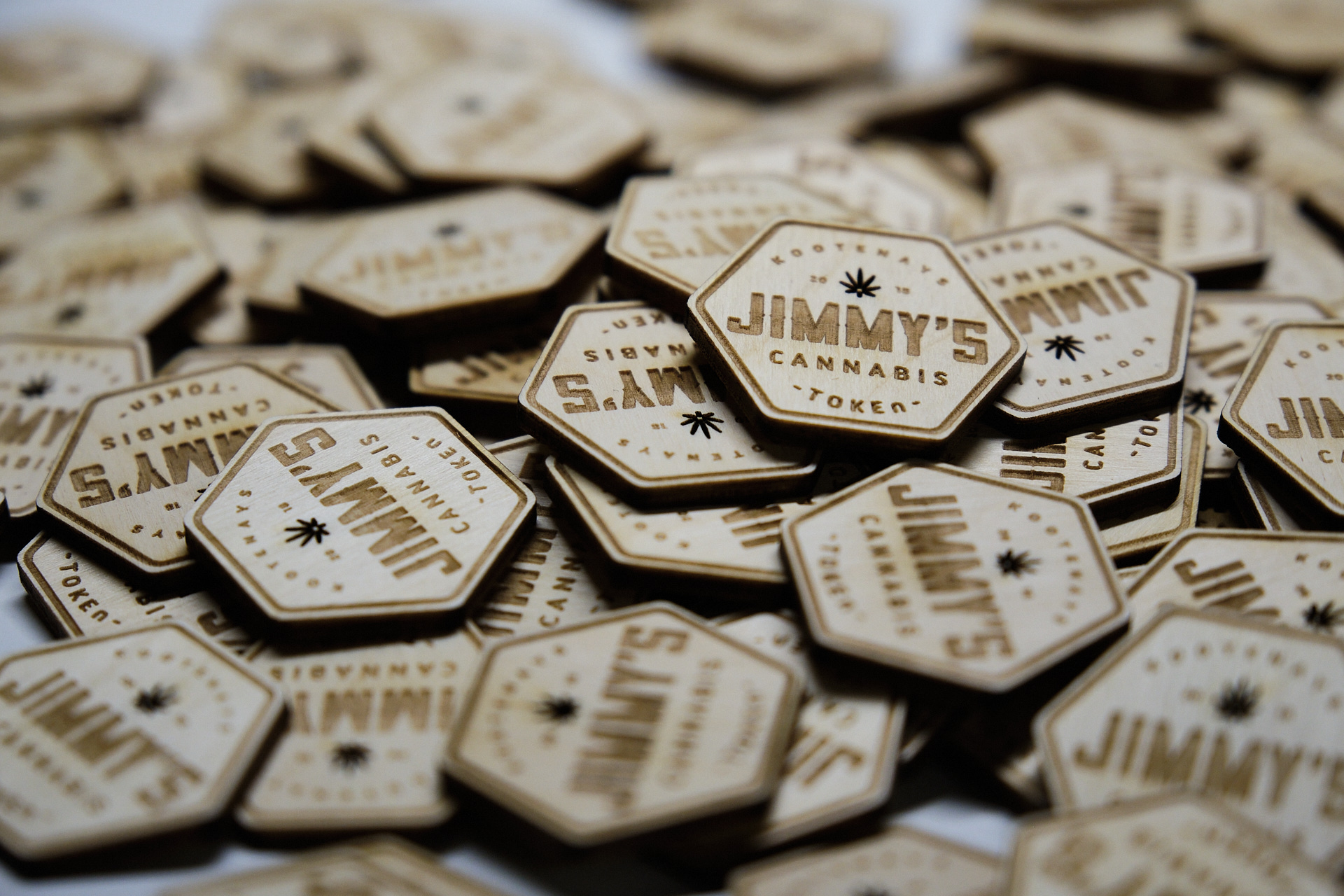 Jimmy's store tokens
