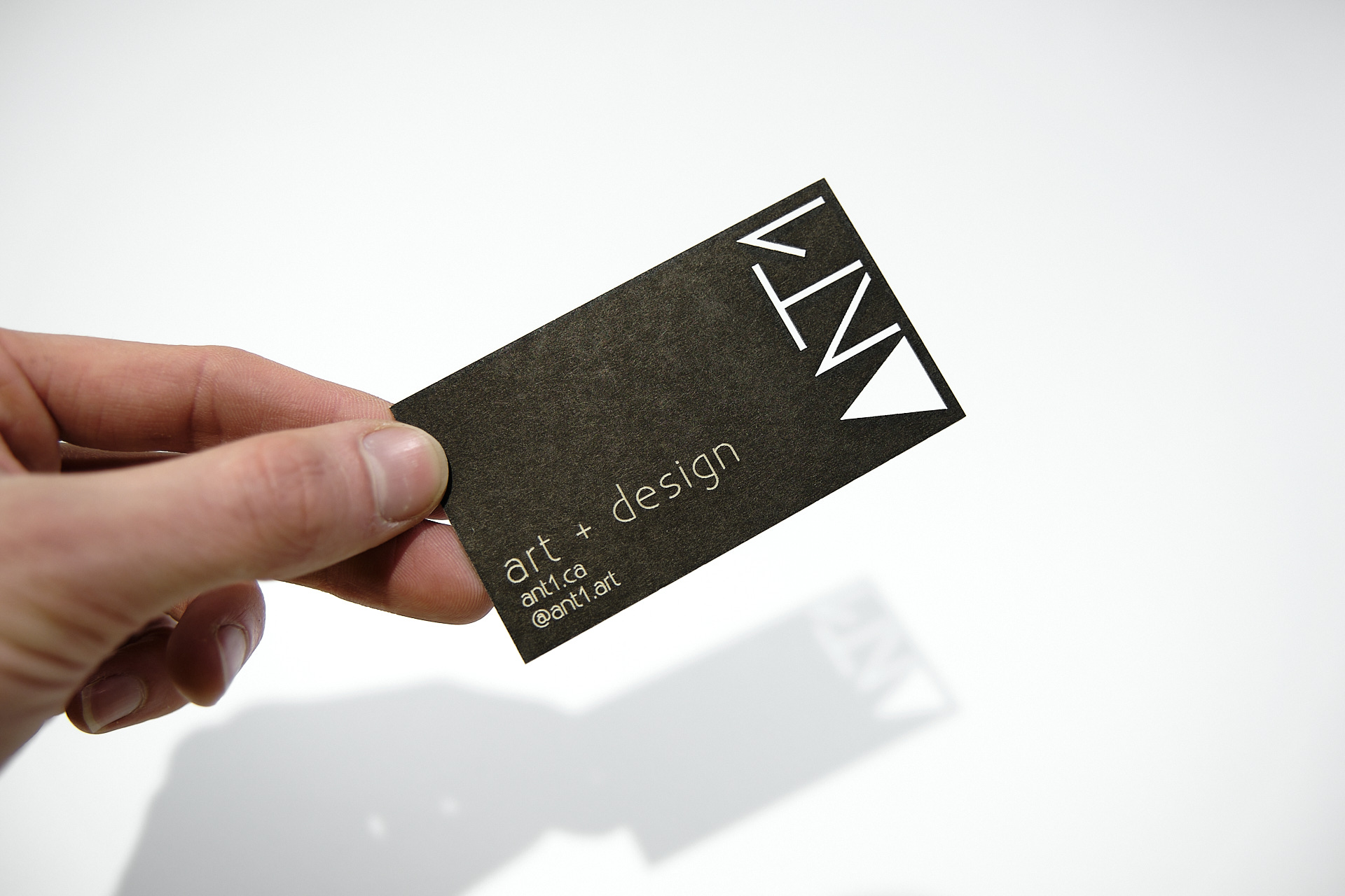 Ant1 Art & Design Business Card